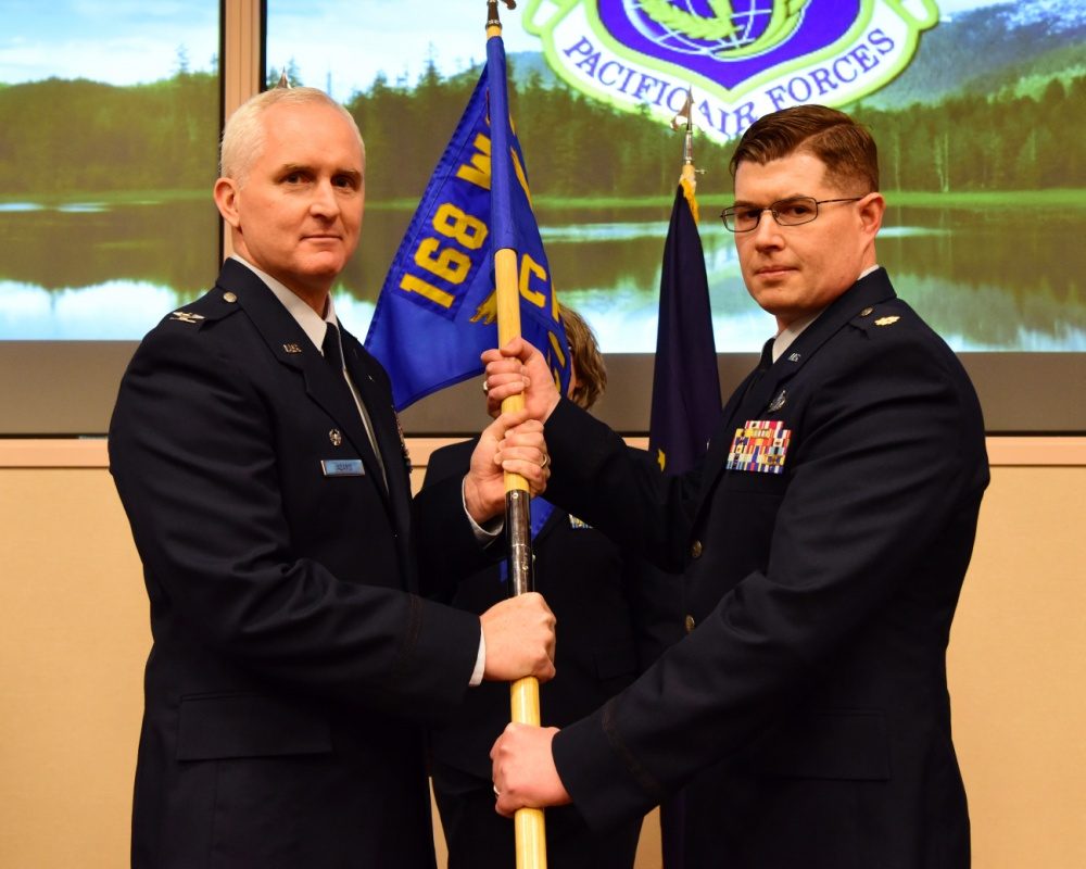 168TH COMPTROLLER FLIGHT WELCOMES NEWEST COMMANDER